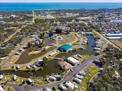 WOODY ACRES MOBILE HOME & RV RESORT at ROCKPORT, TX