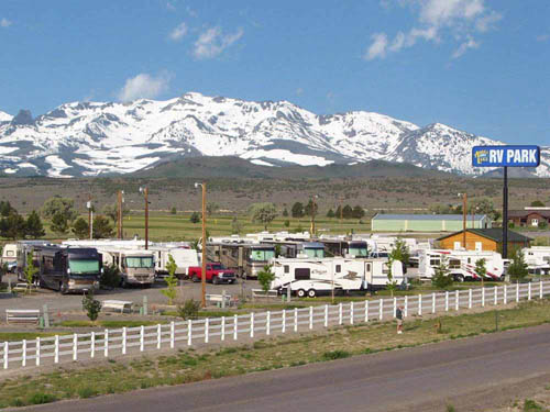 ANGEL LAKE RV PARK at WELLS, NV