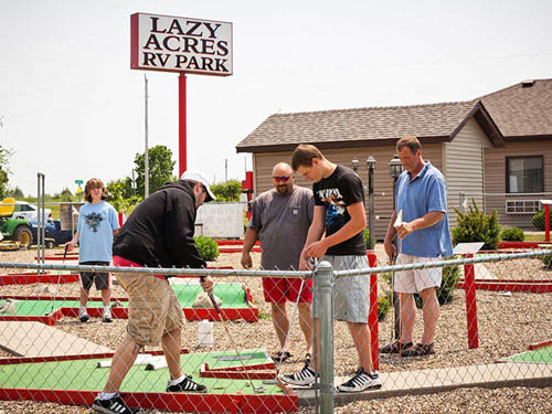 LAZY ACRES RV PARK at URBANA, IA
