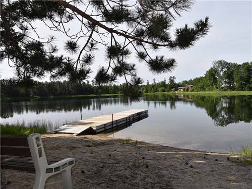 DAVY LAKE CAMPGROUND at IGNACE, ON
