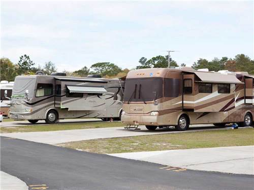 THREE LAKES RV RESORT at HUDSON, FL
