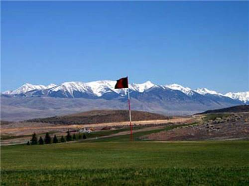 CHALLIS GOLF COURSE RV PARK at CHALLIS, ID