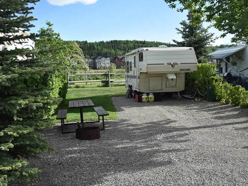 BOW RIVERSEDGE CAMPGROUND at COCHRANE, AB