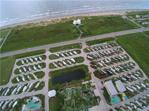 JAMAICA BEACH RV PARK at GALVESTON, TX