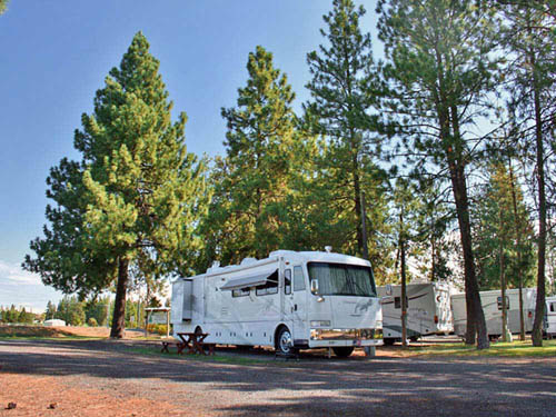 PEACEFUL PINES RV PARK & CAMPGROUND at CHENEY, WA