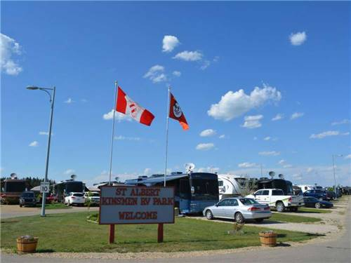 KINSMEN RV PARK at ST ALBERT, AB
