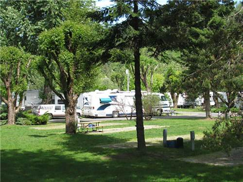 BLUE ANCHOR RV PARK at OSBURN, ID