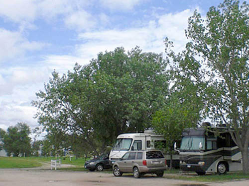 ARROW CAMPGROUND at WALL, SD