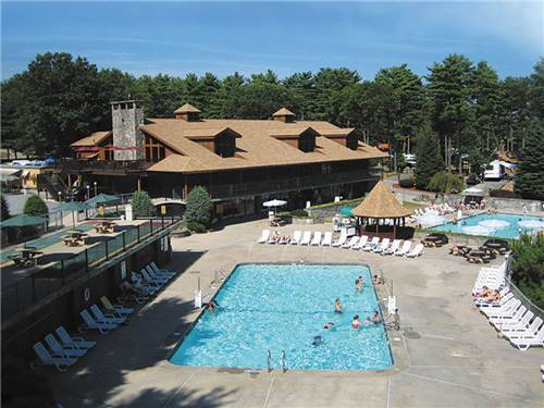 NORMANDY FARMS CAMPING RESORT at FOXBORO, MA