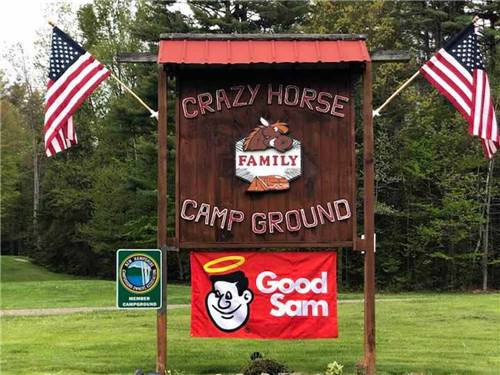 CRAZY HORSE CAMPGROUND at LITTLETON, NH