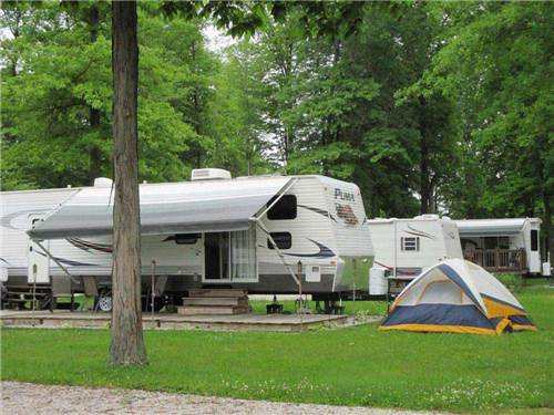 INDIAN CREEK RV & CAMPING RESORT at GENEVA-ON-THE-LAKE, OH