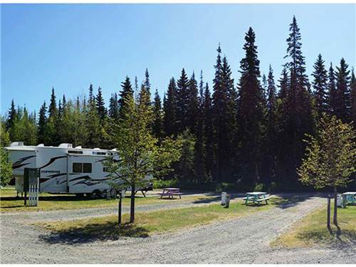 SINTICH RV PARK at PRINCE GEORGE, BC
