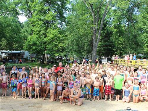 O'NEIL CREEK CAMPGROUND at CHIPPEWA FALLS, WI