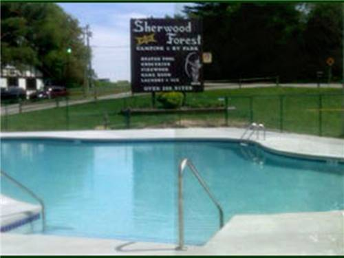 SHERWOOD FOREST CAMPING & RV PARK at WISCONSIN DELLS, WI