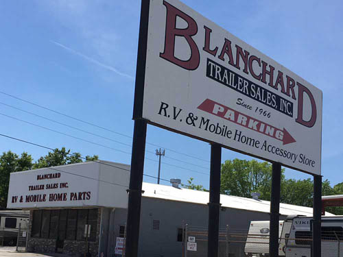 BLANCHARD TRAILER SALES at BATON ROUGE, LA