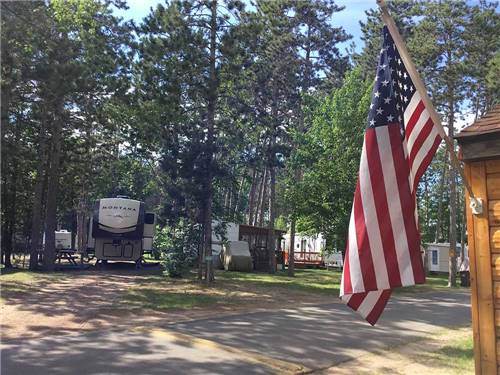 STONY POINT RESORT RV PARK & CAMPGROUND at CASS LAKE, MN