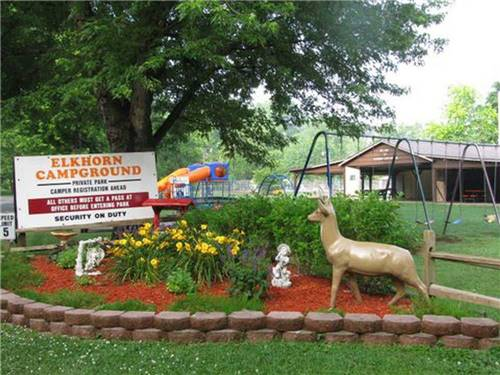 ELKHORN CAMPGROUND at FRANKFORT, KY
