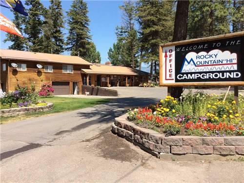 ROCKY MOUNTAIN 'HI' RV PARK AND CAMPGROUND at KALISPELL, MT
