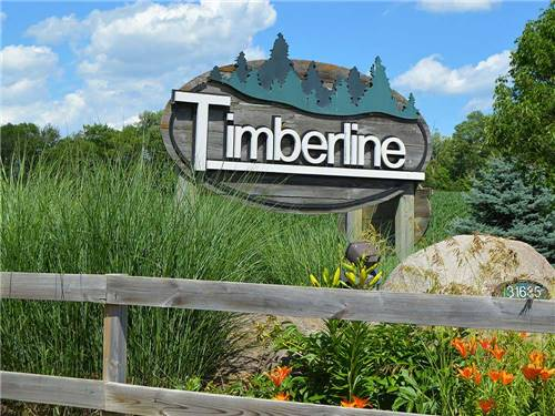 TIMBERLINE CAMPGROUND at WAUKEE, IA