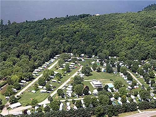 LONE PINE CAMPSITES at COLCHESTER, VT