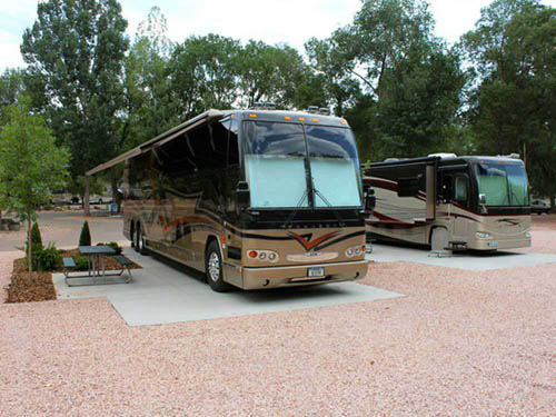 GARDEN OF THE GODS RV RESORT at COLORADO SPRINGS, CO