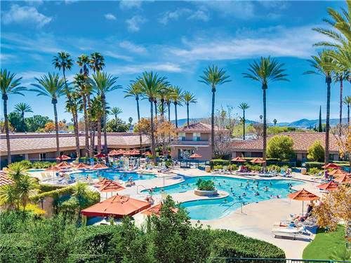 GOLDEN VILLAGE PALMS RV RESORT - SUNLAND at HEMET, CA