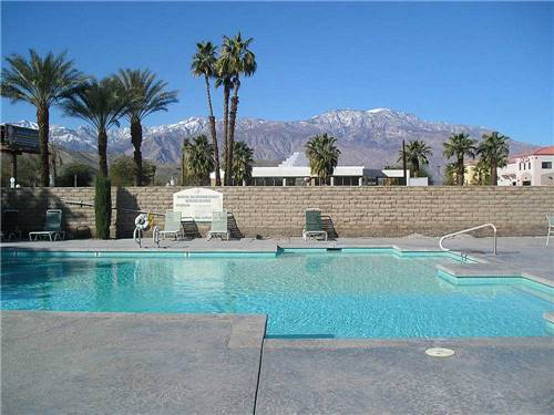 PALM SPRINGS OASIS RV RESORT at CATHEDRAL CITY, CA