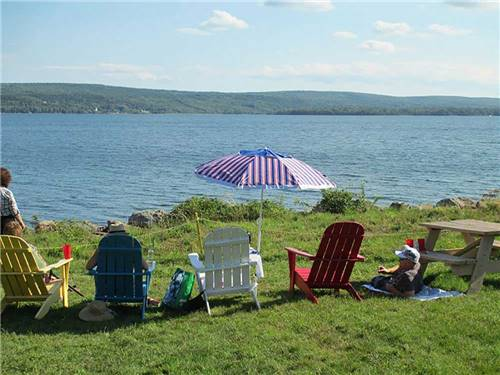 Bras d'Or Lakes Campground On The Cabot Trail