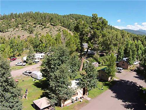 Pagosa Riverside Campground Pagosa Springs Co Rv