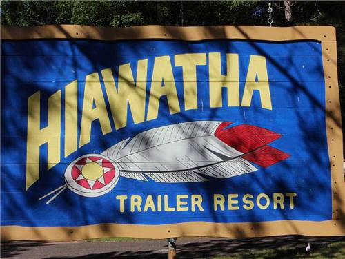 HIAWATHA TRAILER RESORT at WOODRUFF, WI