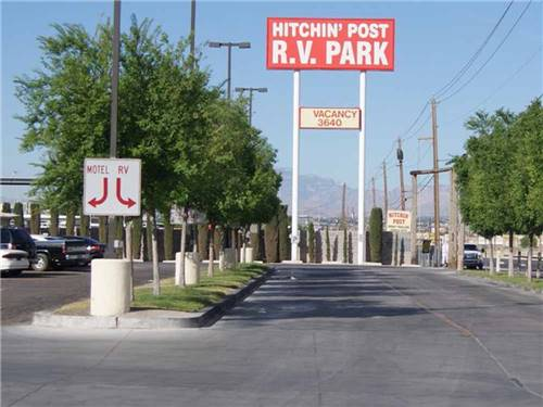 HITCHIN POST RV PARK at LAS VEGAS, NV