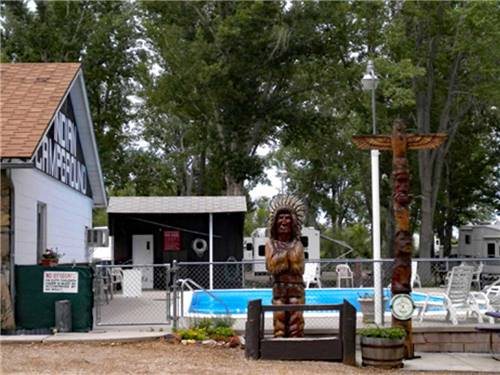 INDIAN CAMPGROUND & RV PARK at BUFFALO, WY