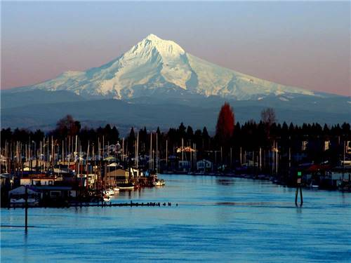 JANTZEN BEACH RV PARK at PORTLAND, OR