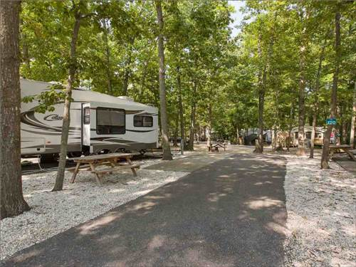 SEASHORE CAMPSITES & RV RESORT at CAPE MAY, NJ