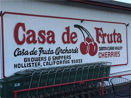 CASA DE FRUTA RV PARK at HOLLISTER, CA