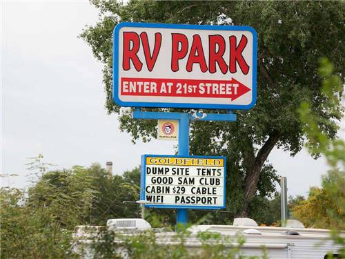 GOLDFIELD RV PARK at COLORADO SPRINGS, CO