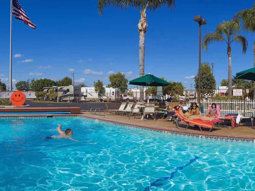 ORANGELAND RV PARK at ORANGE, CA