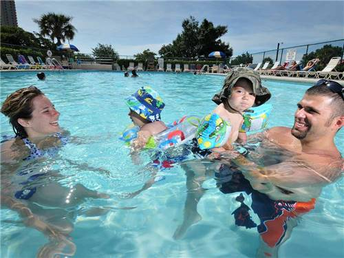 APACHE FAMILY CAMPGROUND & PIER at MYRTLE BEACH, SC