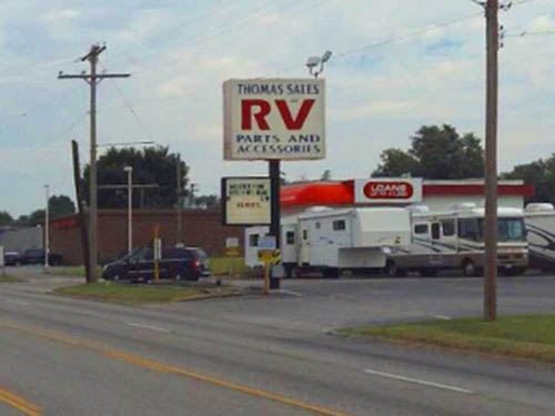 THOMAS & SONS RV SUPPLY at SPRINGFIELD, MO