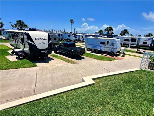 ISLAND RV RESORT at PORT ARANSAS, TX