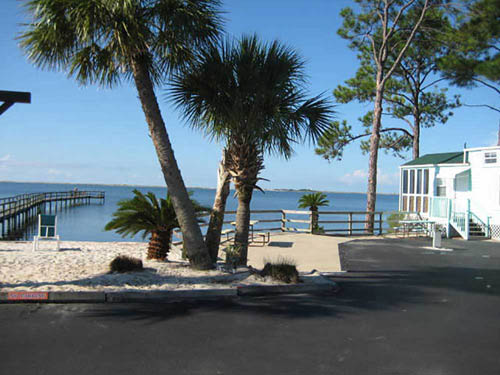 NAVARRE BEACH CAMPGROUND at NAVARRE, FL