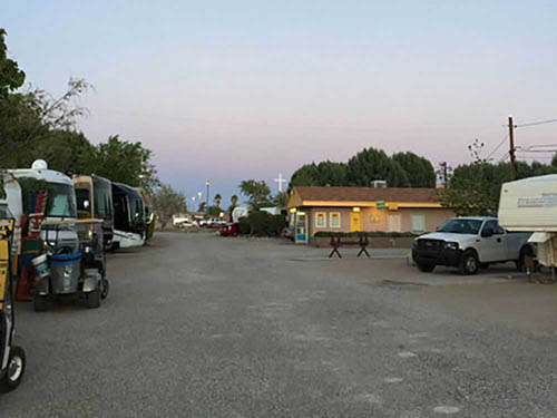 SHADY LANE RV CAMP at BARSTOW, CA