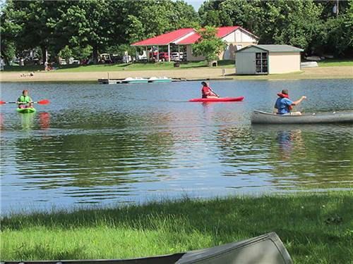 ENON BEACH CAMPGROUND at SPRINGFIELD, OH