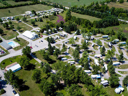 MILTON HEIGHTS CAMPGROUND at MILTON, ON