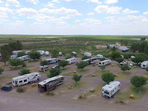 FORT STOCKTON RV PARK at FORT STOCKTON, TX