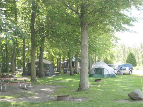 SPAULDING LAKE CAMPGROUND at NILES, MI