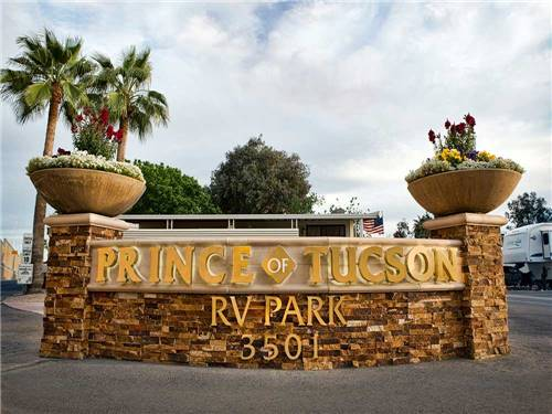 PRINCE OF TUCSON RV PARK at TUCSON, AZ