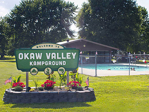 OKAW VALLEY KAMPGROUND at VANDALIA, IL