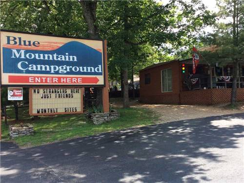 BLUE MOUNTAIN CAMPGROUND at BRANSON, MO