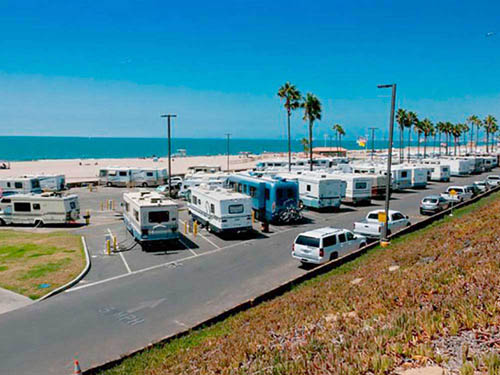 DOCKWEILER RV PARK at PLAYA DEL REY, CA